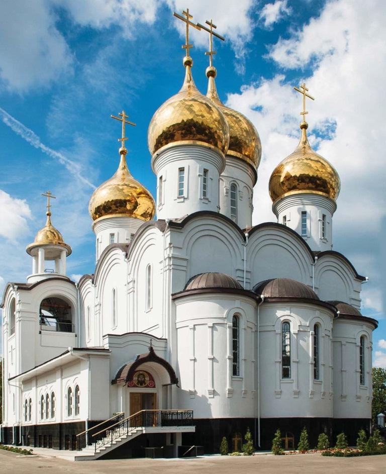 Храм преображения господня гжуковский